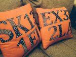 postcode cushions