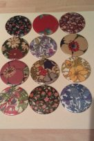 Vintage Liberty Print Pocket Mirrors